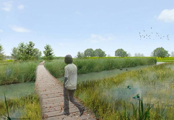 Molenvlietpark Den Haag Bosch Slabbers