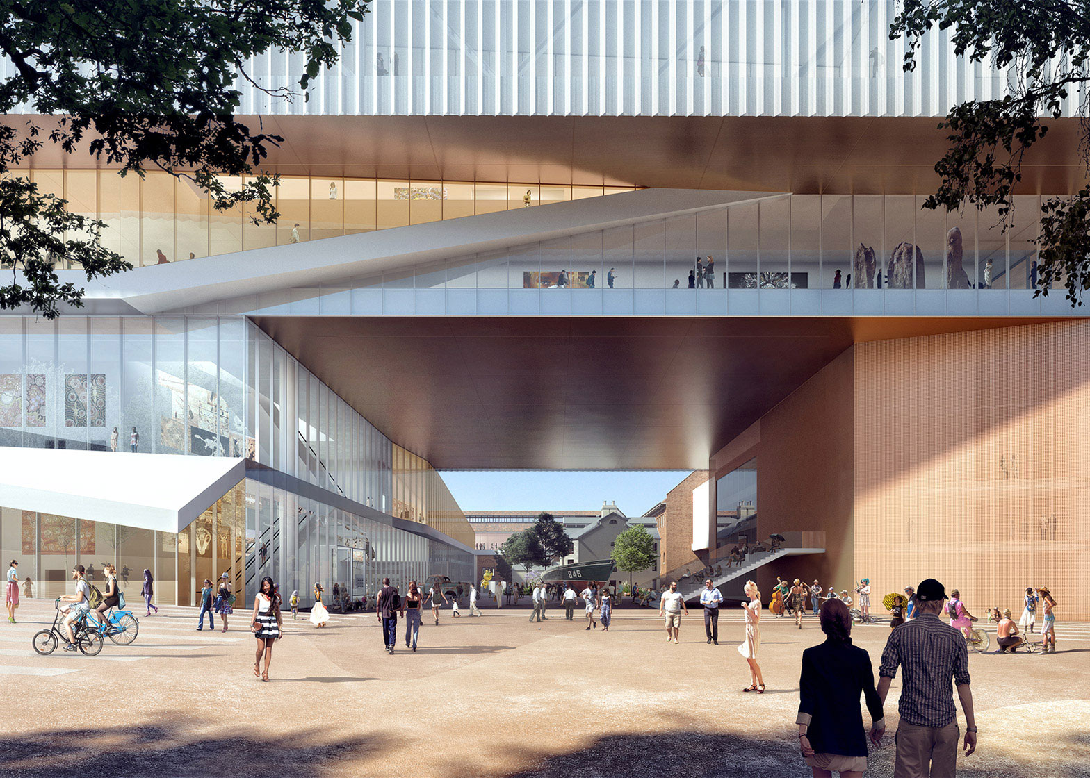 New Museum Perth/Australie door OMA en Hassell