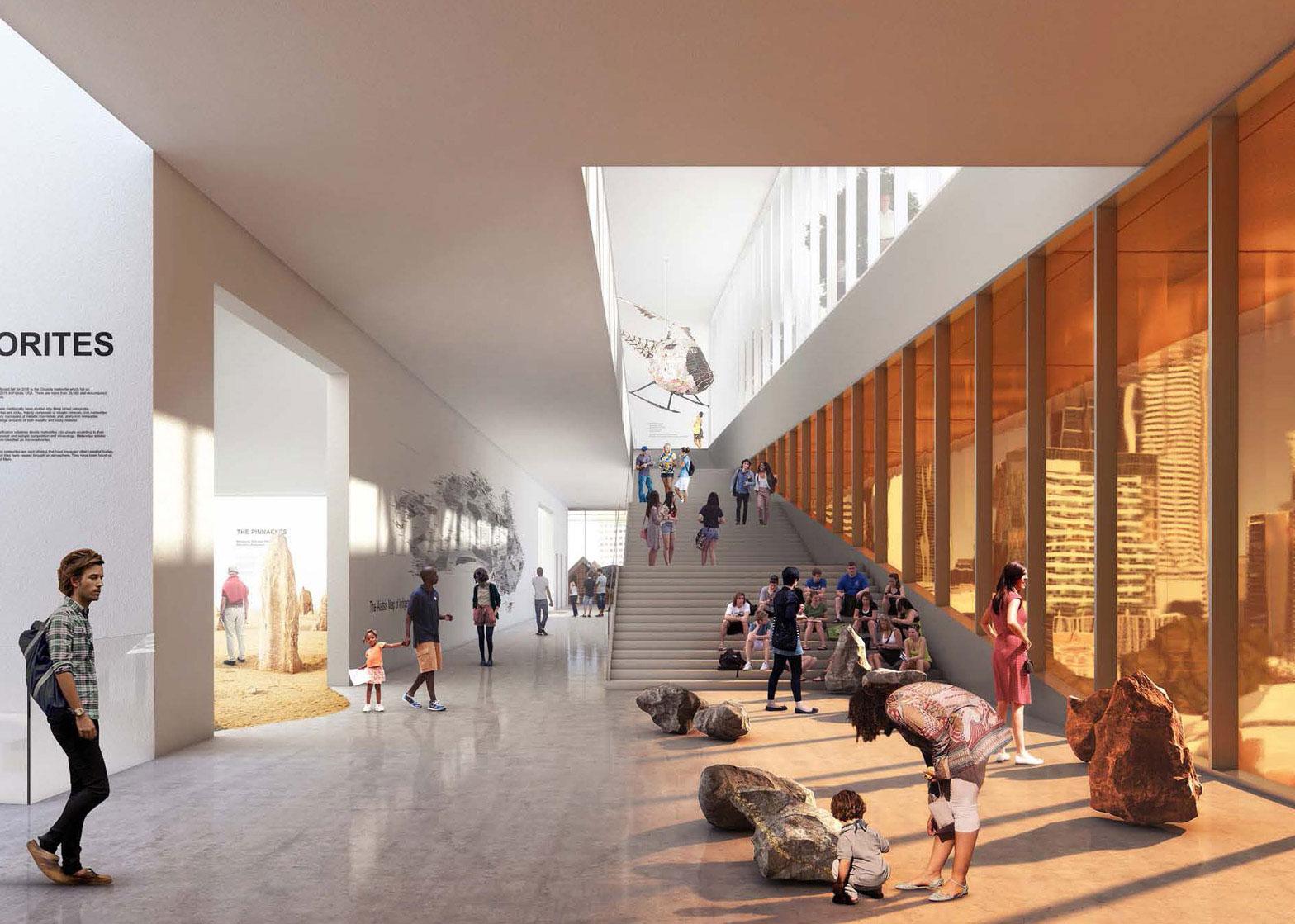 New Museum Perth/Australie door OMA en Hassell