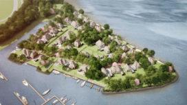 Verplaatsen boom markeert bouwstart villawijk Naardereiland