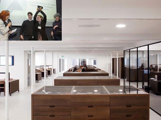 Noord-Hollands Archief met winnaars ARC13 Interieur