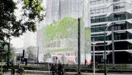 Stadscamping Oase wint prijsvraag Zuidas / De Boog