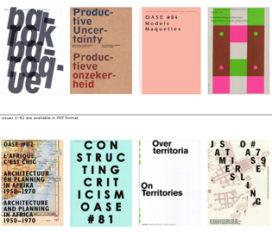 OASE edities digitaal beschikbaar