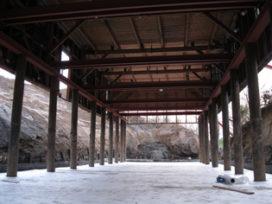 Vernieuwbouw artillerieloods Fort Asperen