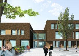 Voorlopig ontwerp brede school Hart voor Maasbree