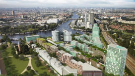 Minimaal 1.000 woningen op Bijlmerbajes-terrein