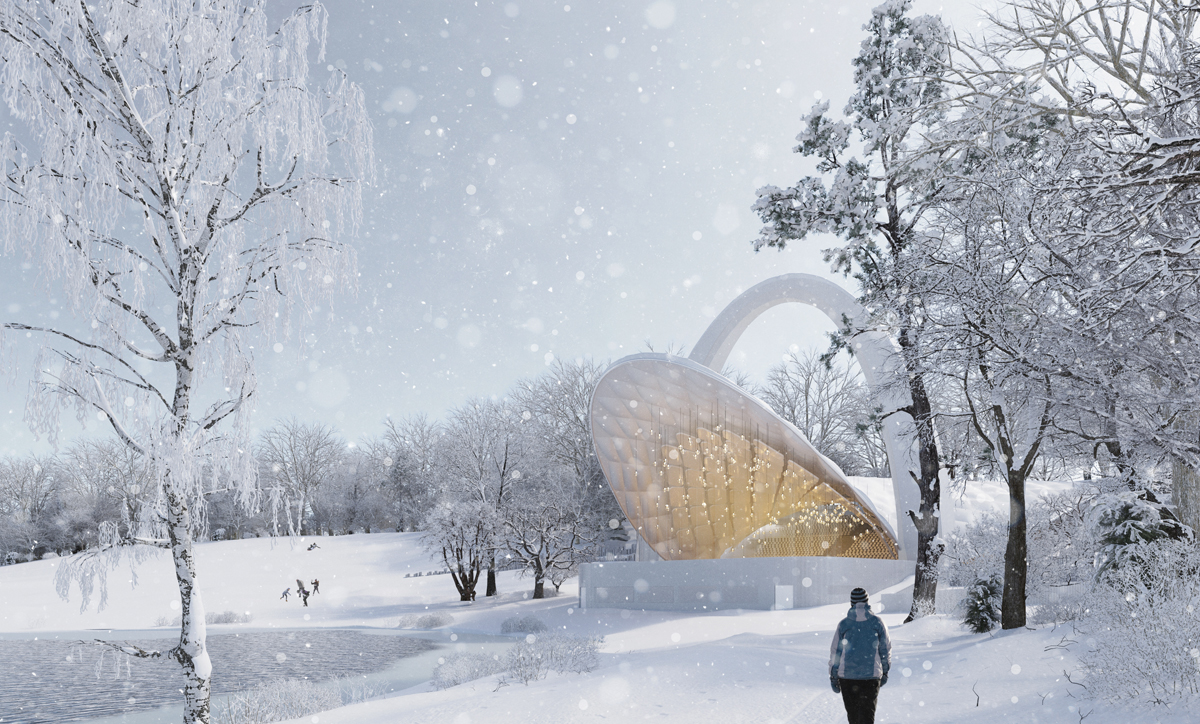 Render Ster van de Week - Polen Muziek theater door Flanagan Lawrence