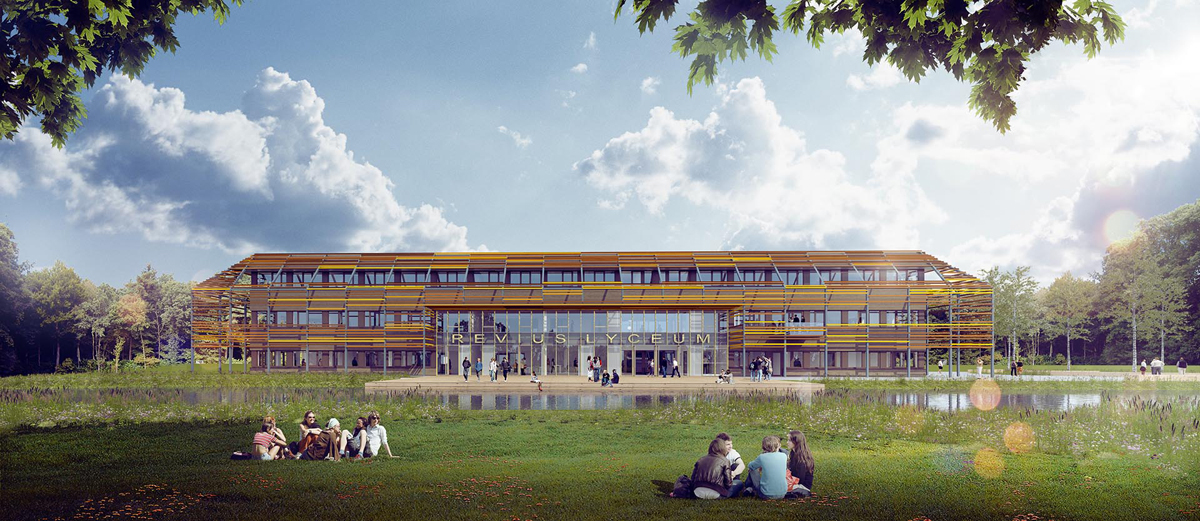 Revius College - Spring architecten i.s.m. MoederscheimMoonen Architects