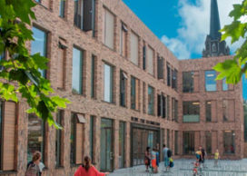 Uitbreiding Nieuwe Park Rozenburgschool in Rotterdam
