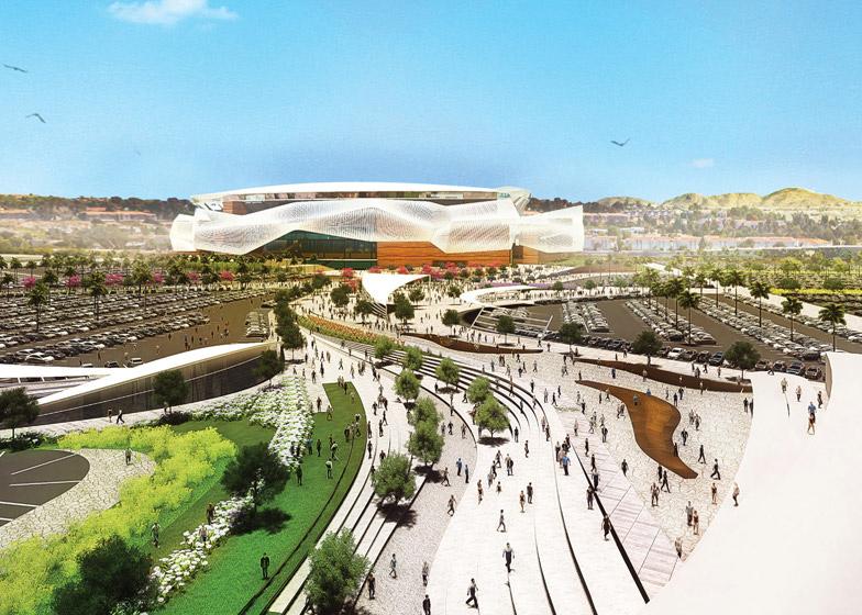 Nieuw stadion San Diego Chargers_Populous