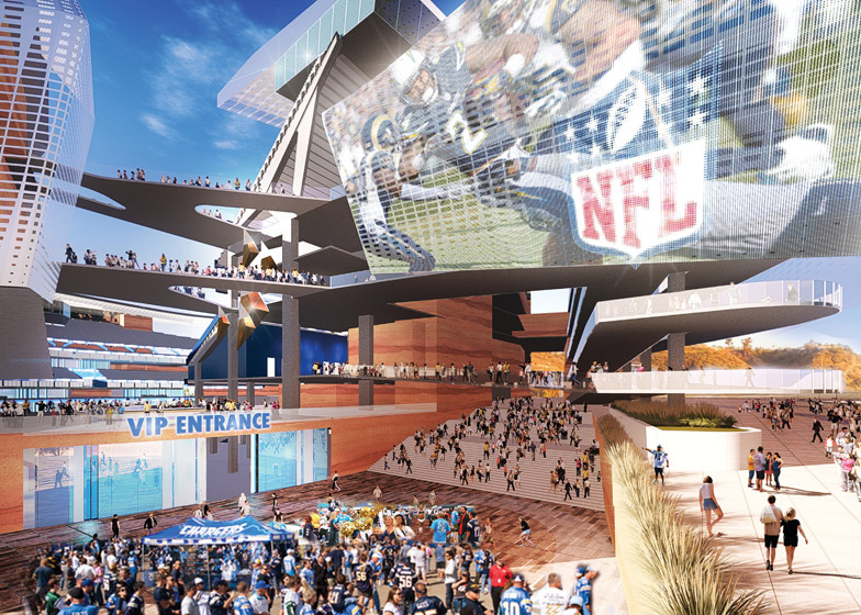 Nieuw stadion San Diego Chargers_Populous