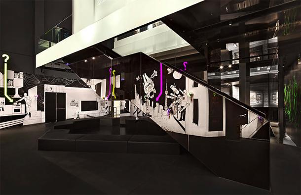 Interieur Sjanghai Glas Museum