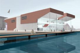 Snelder Architecten ontwerpt bioscoop Dordrecht