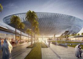 Nieuw sportstadion in Dubai