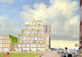 Rotterdamse Toren van Babel op Lloydpier