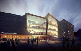 UN Studio bouwt theater Den Bosch