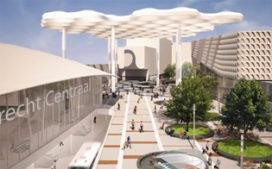 Nieuwe entree en grootste fietsenstalling Utrecht CS