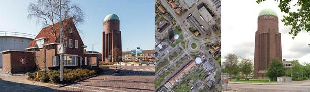 Watertoren Naaldwijk krijgt bebouwing door HET Architectenbureau