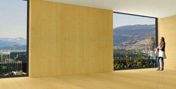 houten Wolkenkrabber