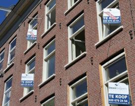 'Woningmarkt verder in het slop'