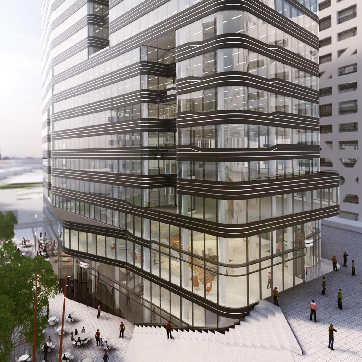 WTC Utrecht door MVSA