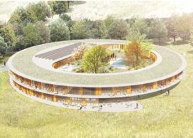 Nieuwbouw energieneutraal zorghotel De Zwanenhof in Zenderen