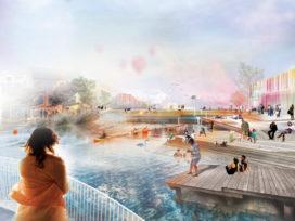 Floda in Zweden krijgt nieuw stadscentrum