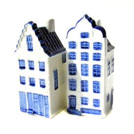 Wijk met KLM-huisjes in Delft