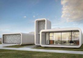 Eerste 3D-geprinte gebouw ter wereld komt in Dubai