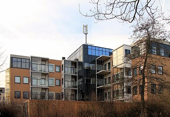 Nominatie NRP Gulden Feniks 2015 - Einsteinbaan door A3 Architecten
