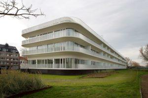 Appartementencomplex in Oostende (B) door BURO II