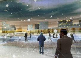 Cie. ontwerpt satellietstad bij Moskou
