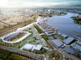Masterplan Feyenoord City door OMA krijgt goedkeuring