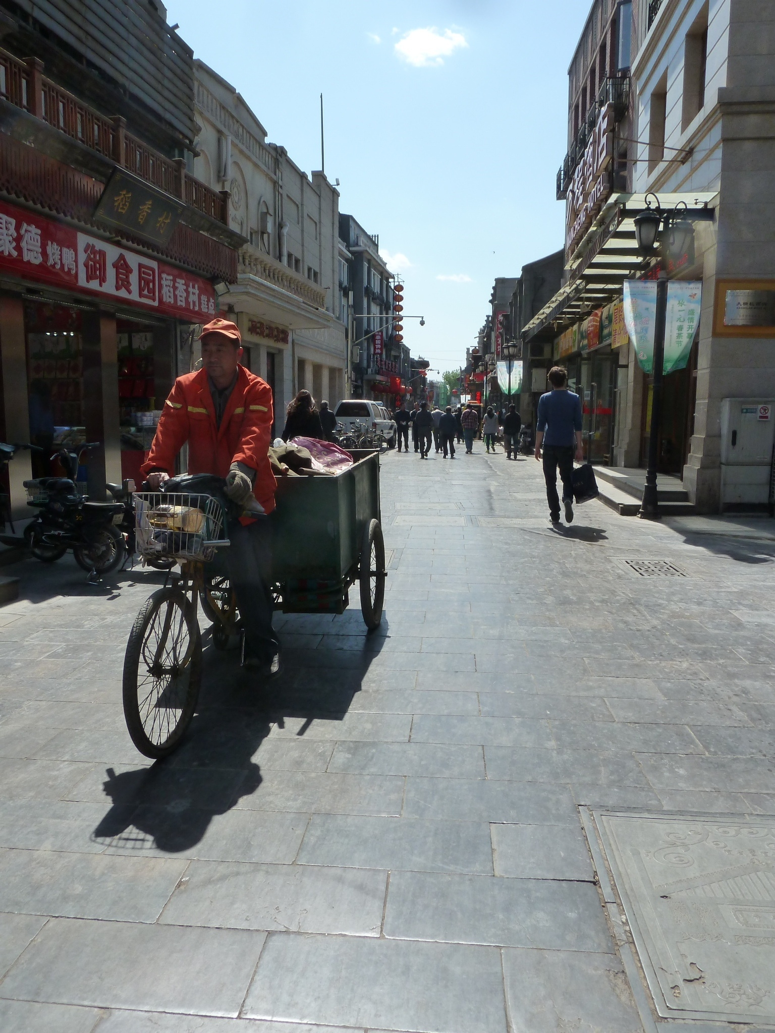 Blog Jan van Vlerken - Fietsen in Beijing