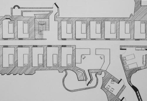 Opinie Jeroen Apers Architectuur is dodelijk tekeningen van Baptiste Debombourg