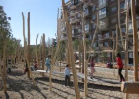 Speelplaatsen van West8 in Madrid