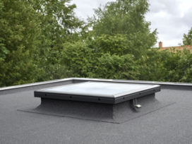 Nieuwe VELUX vlak glas oplossing voor platte daken