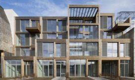 Houtlofts in Buiksloterham, Amsterdam door ANA architecten