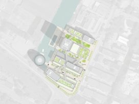 MVRDV ontwerpt Hamburg Innovation Port masterplan