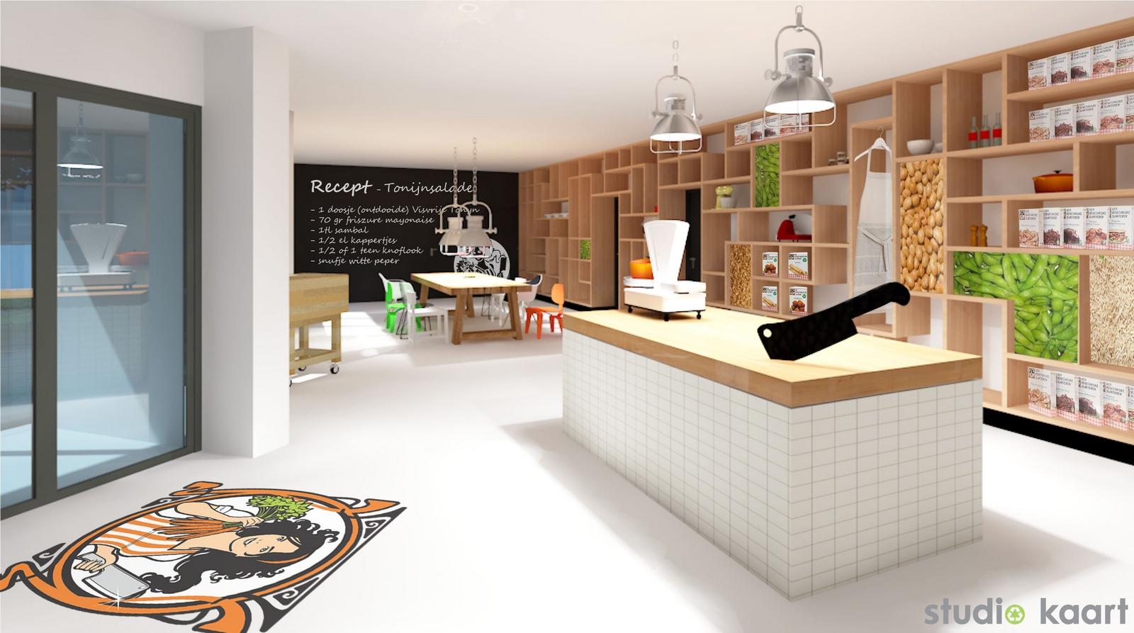 Studio Kaart Vegetarische Slager Fabriek