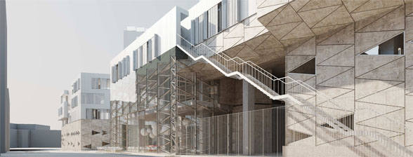 Greenbizz Brussel, onderdeel van duurzame wijk Tivoli