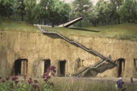 Trap met uitzichtplatform kalksteengroeve Luikerweg hersteld