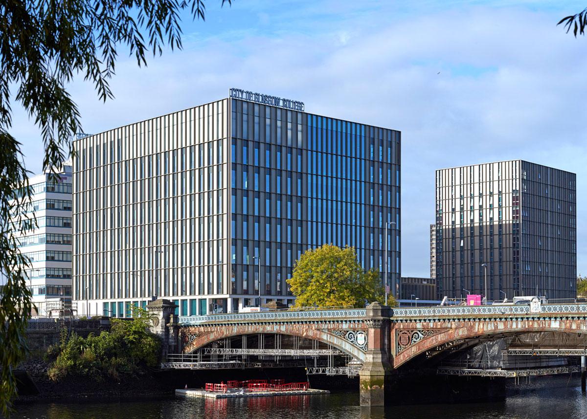 City of Glasgow College, Reiach Hall. Foto: Edmund Sumner