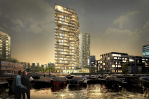 Houten woontoren HAUT wint International BREEAM Award