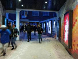 Vernieuwde passage in het Hercules Segherskwartier Amsterdam