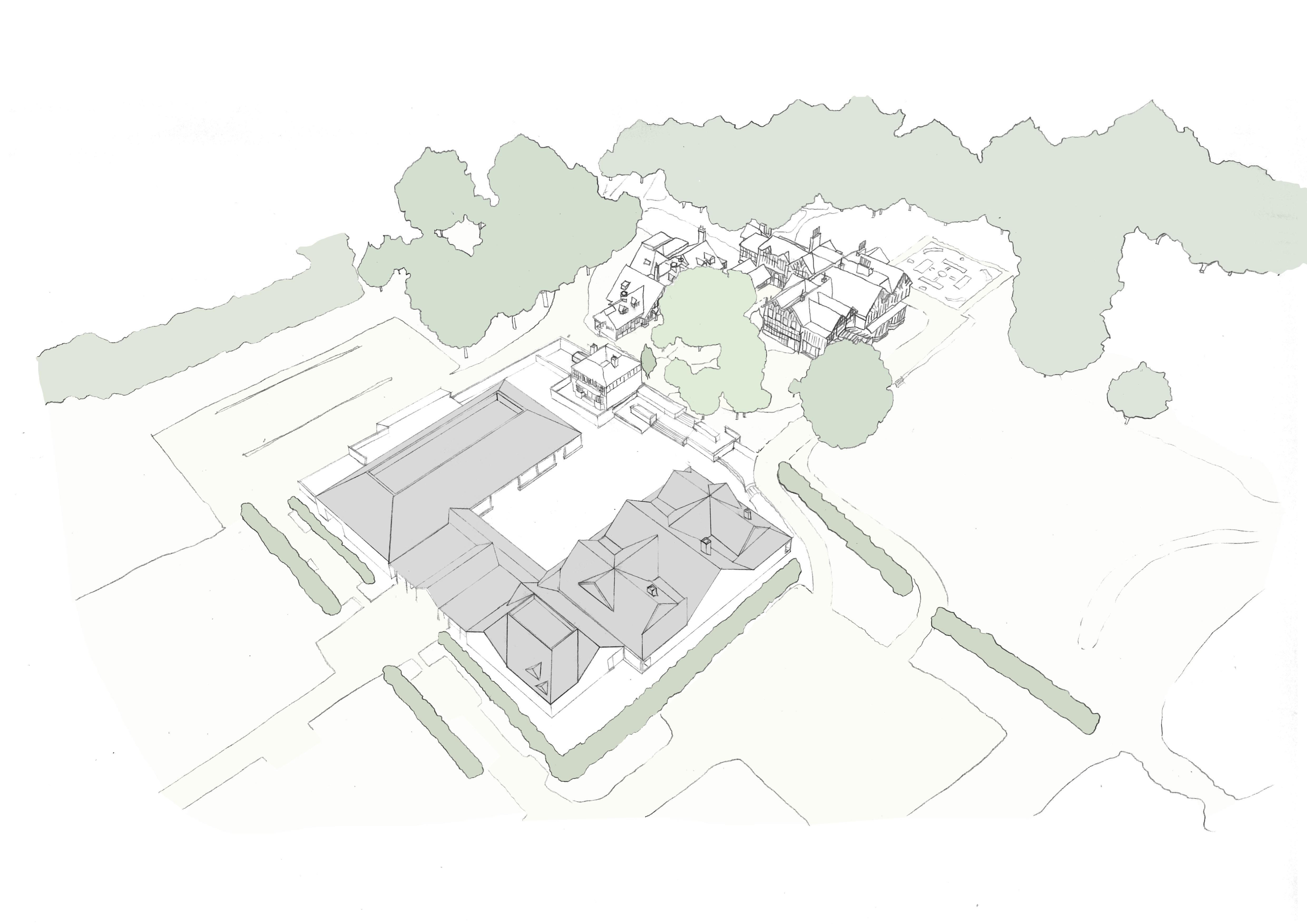 Hindoe Tempel door Cottrell & Vermeulen in Hertforshire