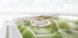 NEXT architects & Rudy Uytenhaak ontwerpen fietsbrug en school Utrecht