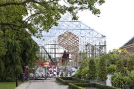 Restauratie kassencomplex Hortus botanicus