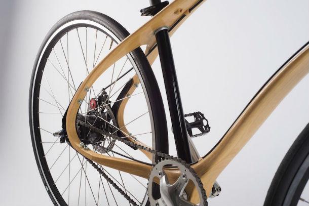 Houten fiets van JAN