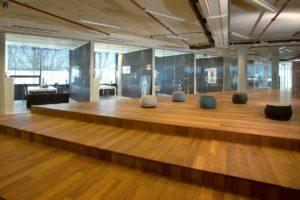 Kantoor TBWACompany Group in Amsterdam door AbrahamsCrielaers